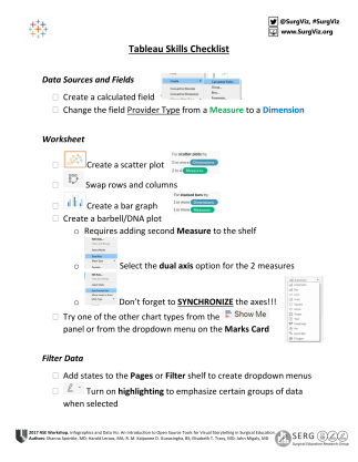Microsoft Word - Tableau Skills Checklist page 1-1