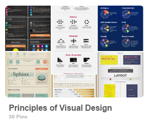 pinterest principles of visual design
